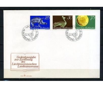LİECHTENSTEİN 1971 ARKEOLOJİ FDC SÜPER (240415)