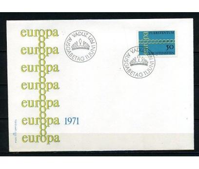 LİECHTENSTEİN 1971 EUROPA CEPT FDC SÜPER (240415)