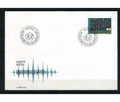 LİECHTENSTEİN 1972 EUROPA CEPT FDC SÜPER (240415)