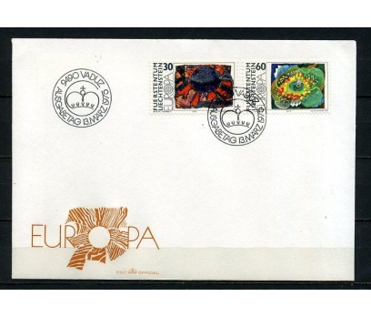 LİECHTENSTEİN 1975 EUROPA CEPT FDC SÜPER (250415)