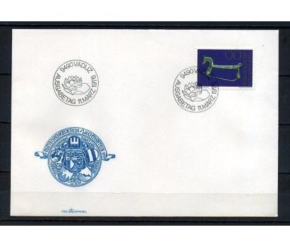 LİECHTENSTEİN 1976 ARKEOLOJİ FDC SÜPER (250415)