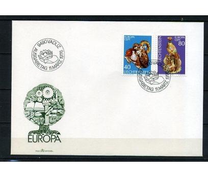 LİECHTENSTEİN 1976 EUROPA CEPT FDC SÜPER (250415)