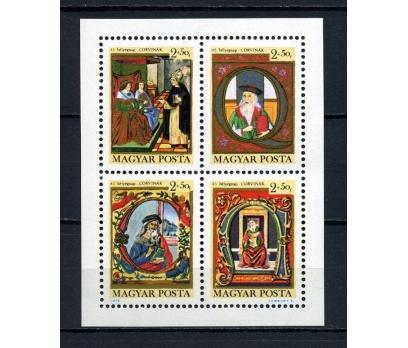MACARİSTAN ** 1970  TABLOLAR BLOK SÜPER (010415)