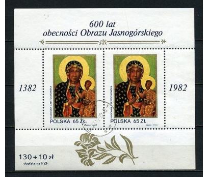 POLONYA DAMG. 1982 DİNİ TABLO BLOK SÜPER (110415)