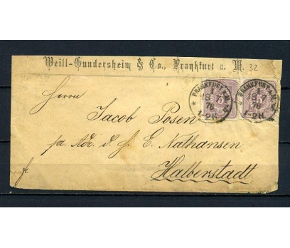 REİCH 1876 KLASİK POSTADAN G.ZARF (080415)