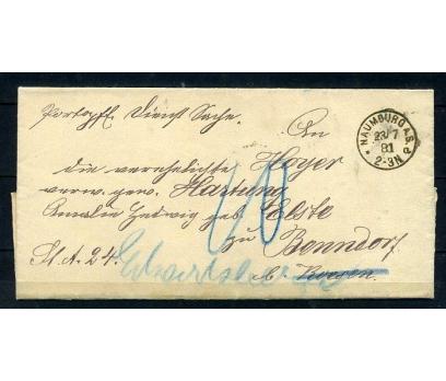 REİCH 1881 KLASİK POSTADAN G.ZARF (080415)