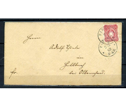 REİCH 1883 KLASİK POSTADAN G.ZARF (080415)