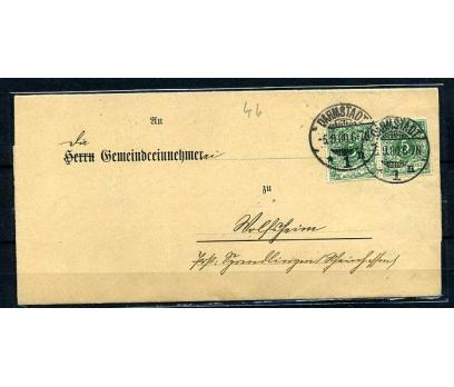 REİCH 1900 KLASİK POSTADAN G.ZARF (080415)