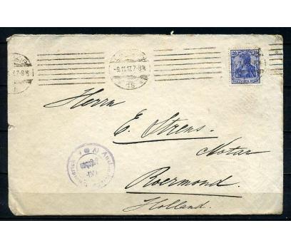 REİCH 1917 KLASİK  PULLA P.G. TAAHHÜTLÜ Z.(090415)