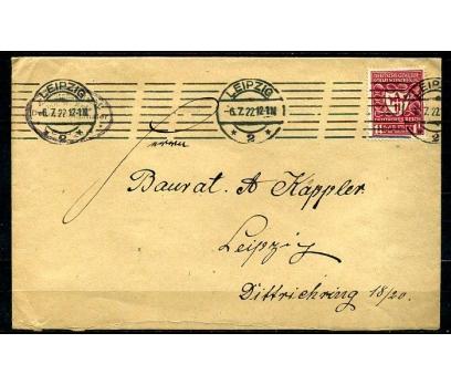 REİCH 1922 LEIPZIG D. KLASİK  PULLA P.G.Z.(090415)