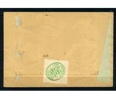 REİCH 1929 RESMİ  PULLARLA P.G. ZARF (090415) 2