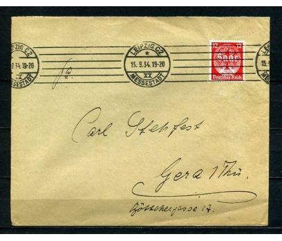 REİCH 1934 SAAR KLASİK  PULLA P.G.Z.(090415)