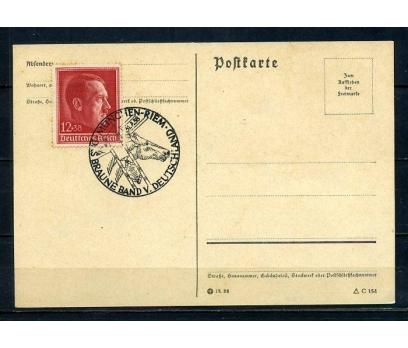 REİCH  1938 HİTLER ÖZEL DAMGALI ANTİYE (080415)