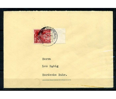 REİCH 1938 KLASİK TEK PULLA POST. G.ZARF (080415)