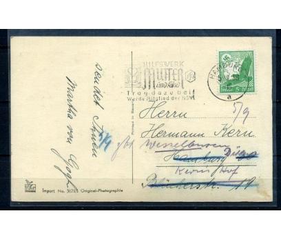 REİCH 1938 NAZİ KARTALI PULLU DOĞUM GÜNÜ K(080415)