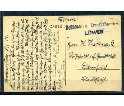 REİCH  1938 PULSUZ LEUVEN KARTPOSTAL (070415)