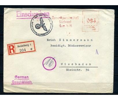 REİCH 1941 NAZİ DAM VE OTOMAT PULLA P.G.Z.(090415)