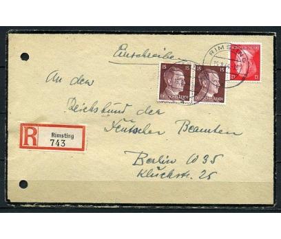 REİCH 1944 HİTLER PULLARIYLA TAAH. P.G.Z.(090415)
