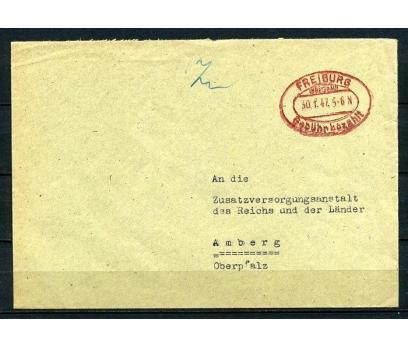 REİCH 1947 FREİBURG GEMİ DAMGALI P.G.Z.(090415)