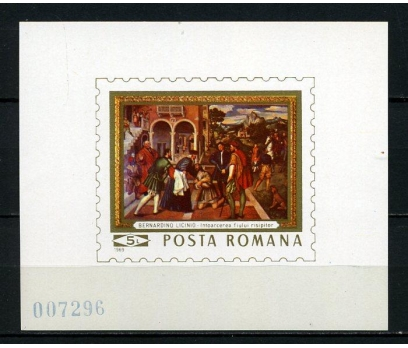 ROMANYA ** 1969  TABLOLAR BLOK SÜPER (010415)