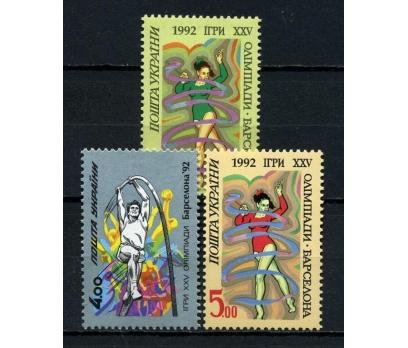 UKRAYNA ** 1992  OLİMPİYAT TAM SERİ SÜPER (100415)