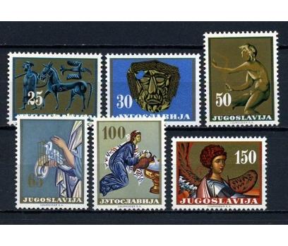 YUGOSLAVYA ** 1962 SANAT TAM SERİ (020415)