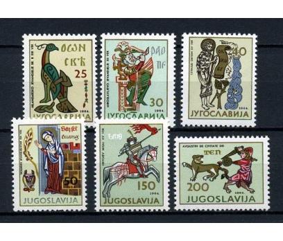 YUGOSLAVYA ** 1965 SANAT TAM SERİ (020415)