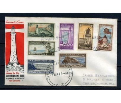 Y.ZELANDA 1947 DENİZ FENERLERİ FDC SÜPER (260415)