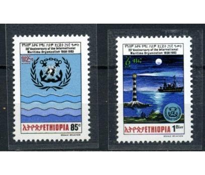 ETİYOPYA ** 1983 DENİZ FENERLERİ TAM S.(020515)