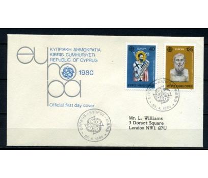 G.KIBRIS FDC 1980 EUROPA CEPT SÜPER (060515)