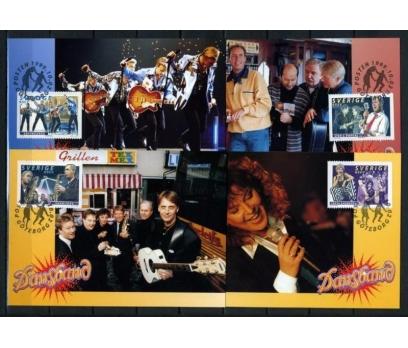 İSVEÇ 1999 POP STARLAR TAM S. 4 KARTMAX (040515)