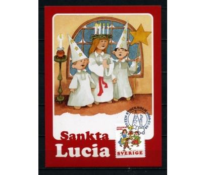 İSVEÇ 2000 CHRISTMAS TAM SERİ 5 KARTMAX (040515) 4