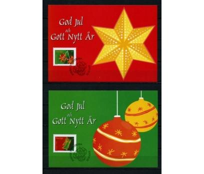 İSVEÇ 2001 CHRISTMAS TAM SERİ 6 KARTMAX (040515) 3