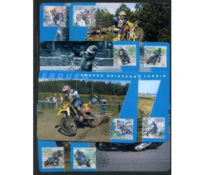 İSVEÇ 2002 MOTOKROS TAM SERİ 8 KARTMAX (040515)