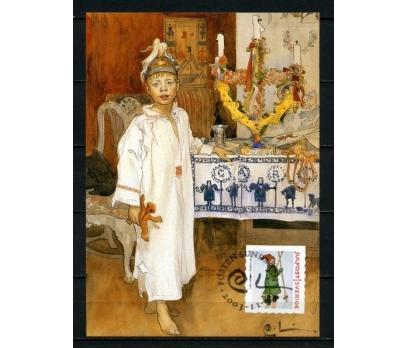 İSVEÇ 2003 CHRISTMAS TAM SERİ 5 KARTMAX (040515) 4