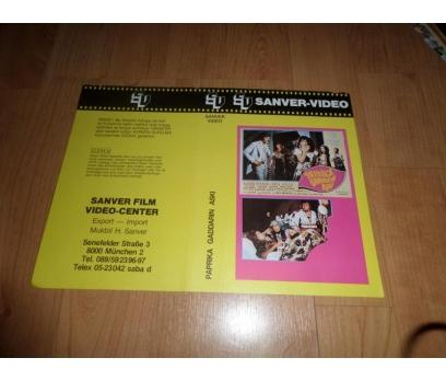 PAPRIKA GADDARIN AŞKI KADİR İNANIR VHS KAPAK COVER