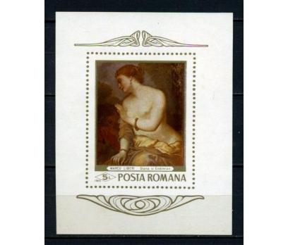 ROMANYA ** 1969 NÜ TABLO BLOK (080515)