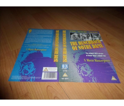 THE HUNCHBACK OF NOTRE DAME VHS KAPAK-COVER
