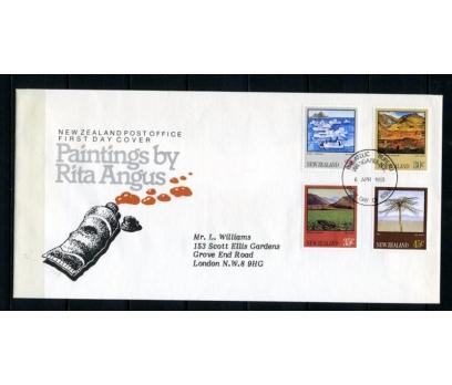 Y. ZELANDA FDC 1983 TABLOLAR SÜPER (070515)
