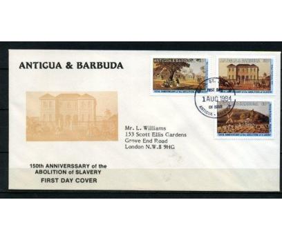 A.BARBUDA FDC 1984 TABLOLAR SÜPER (090515)