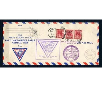 ABD 1928 Ö.D. OGDEN-UTAH  DİPL.Z. İLK UÇUŞ(150515)