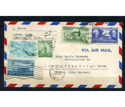 ABD 1948 Ö.D.  U.S.AIRMAIL 30.YIL SÜPER (150515)