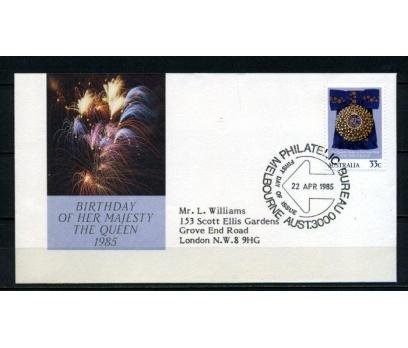 AVUSTRALYA FDC 1985 KR.ELİZABETH  SÜPER (090515)