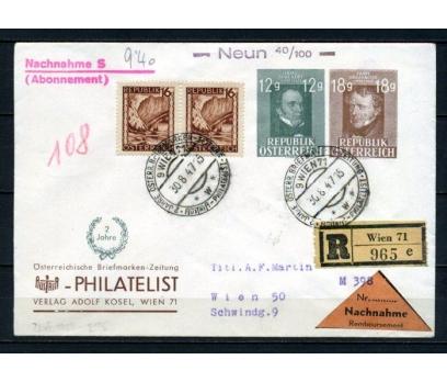 AVUSTURYA 1947 SCHUBERT PULU İLE PGZ (100515)