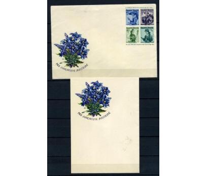 AVUSTURYA 1951 KIYAFETLER MEKTUP ANTİYE(100515)
