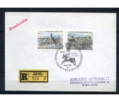 AVUSTURYA 1965 WİPA ÖZEL DAMGALI ZARF (100515)