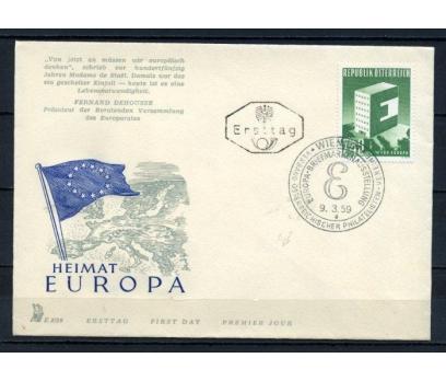AVUSTURYA FDC 1959 EUROPA CEPT SÜPER (100515)