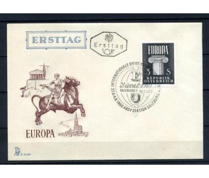 AVUSTURYA FDC 1960 EUROPA CEPT SÜPER (100515)