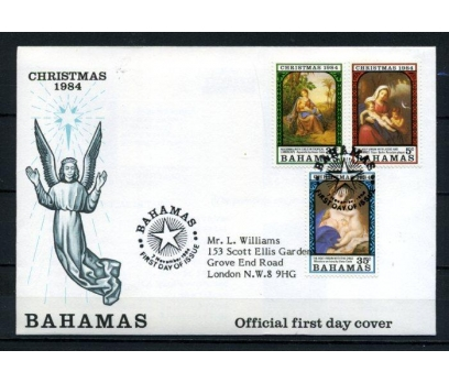 BAHAMA FDC 1984 CHRISTMAS SÜPER (090515)