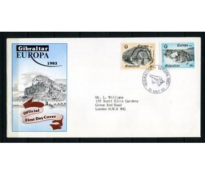 CEBELİTARIK FDC 1983 EUROPA CEPT SÜPER (090515)